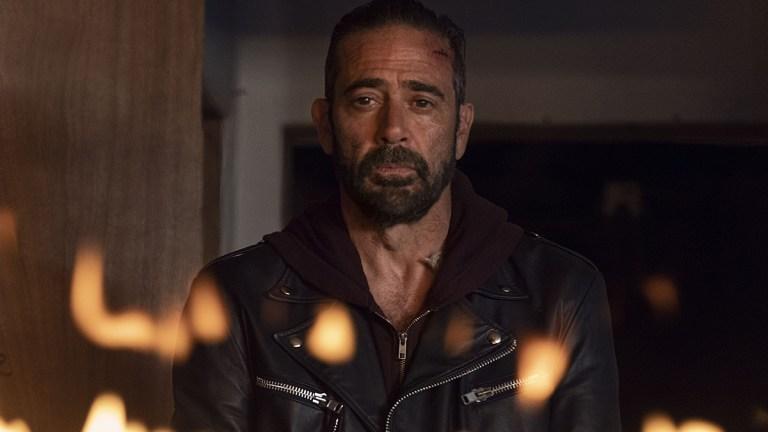 """Jeffrey Dean Morgan in The Walking Dead, """"Here's Negan."""""""