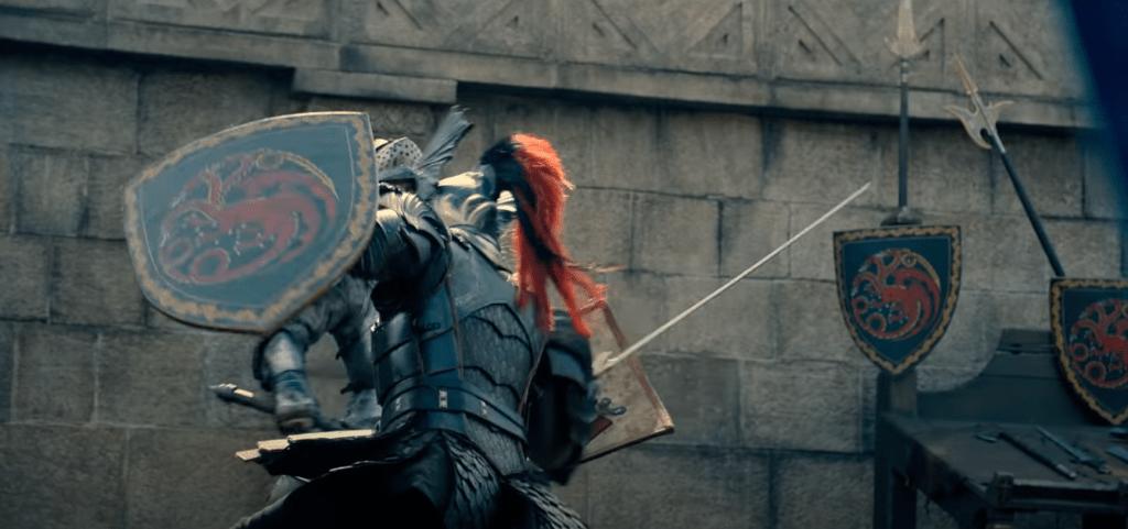 House of the Dragon on HBO Max - Daemon Targaryen v. Ser Criston Cole