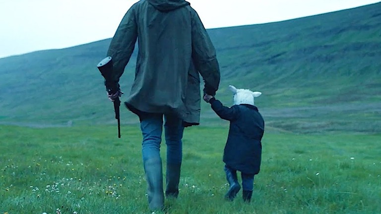 Ada and father in A24's Lamb ending