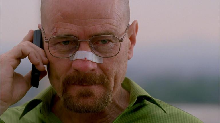 """Walter White (Bryan Cranston) in Breaking Bad """"Face Off"""""""