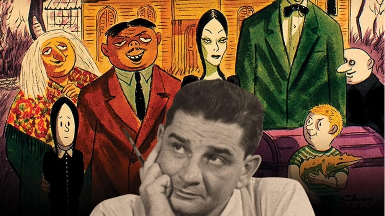 Charles Addams A Cartoonist's Life cover