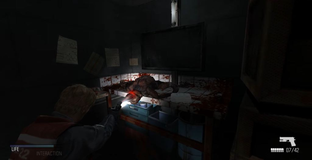Cold Fear horror game