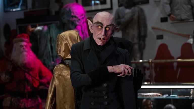 A creepy Nosferatu model in Creepshow season 3