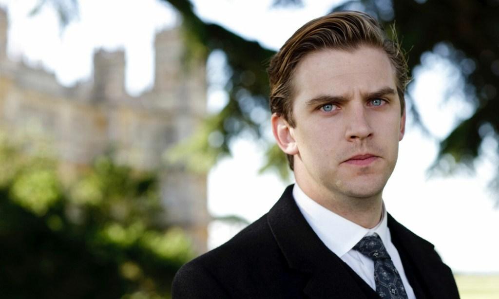 Dan Stevens in Downton Abbey