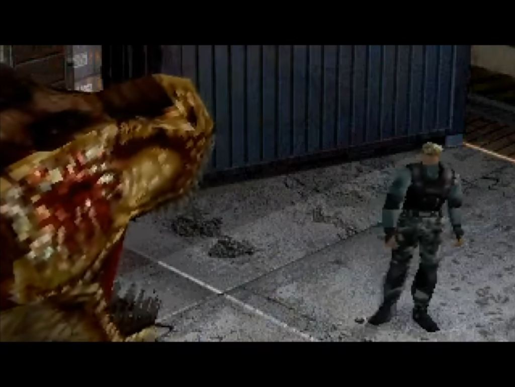 Dino Crisis 2 horror game