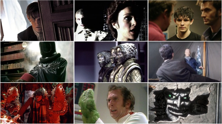 Doctor Who scariest episodes header image
