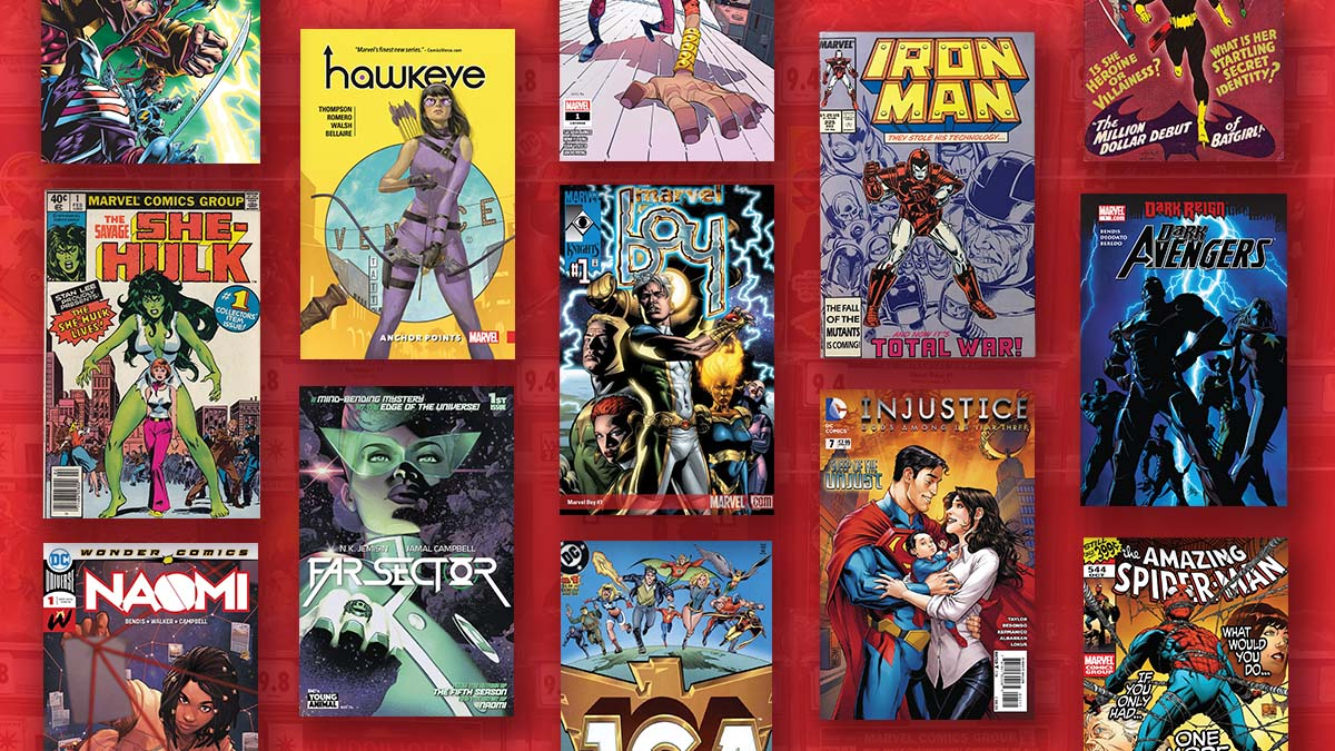 Hot Marvel and DC Comicse SciFi Thrill