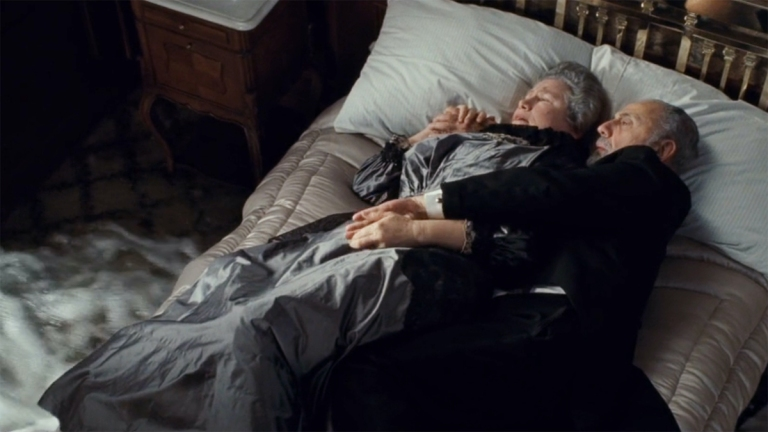 Isidor and Ida Straus in true story of Titanic