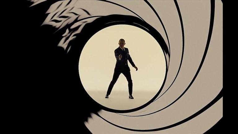 James Bond in Gun Barrel Sequence