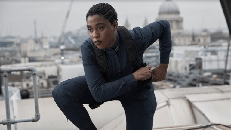 Lashana Lynch as 007 in No Time to Die