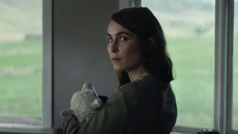 Noomi Rapace with Ada in Lamb