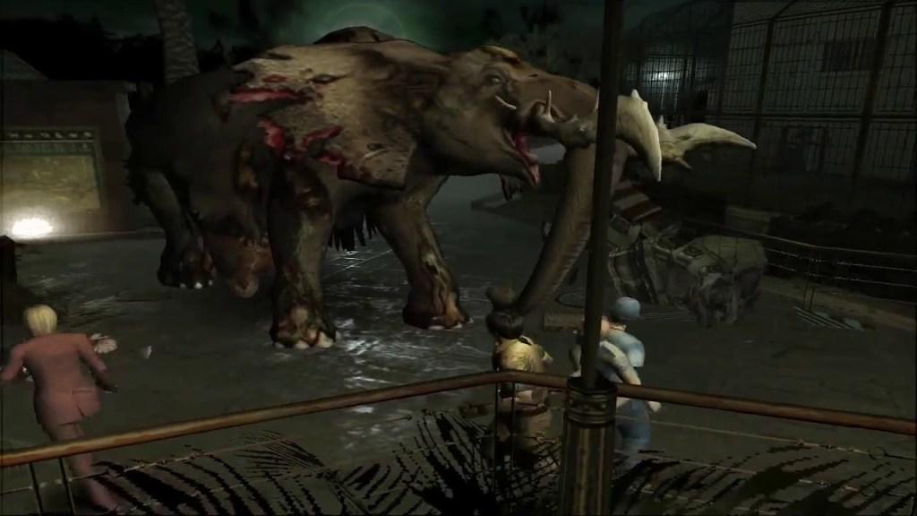 Resident Evil Outbreak horror games