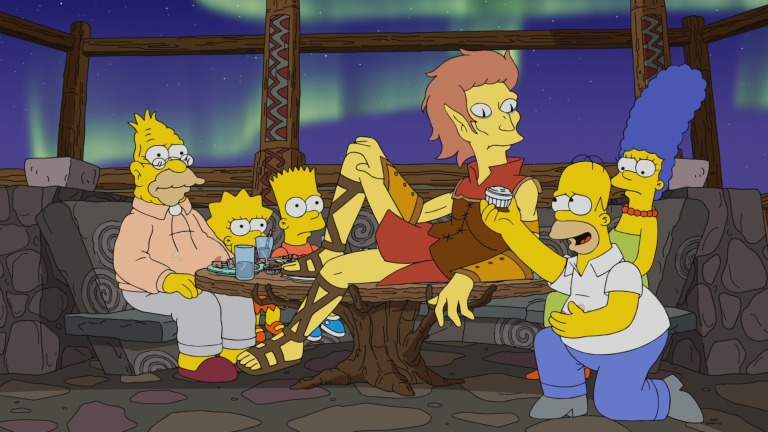 The Simpsons Season 33 Episode 2 barts in jail1