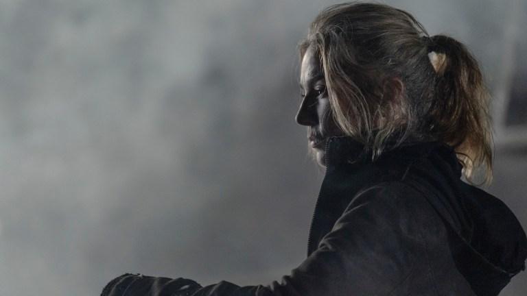 Leah (Lynn Collins) in The Walking Dead season 11 episode 8