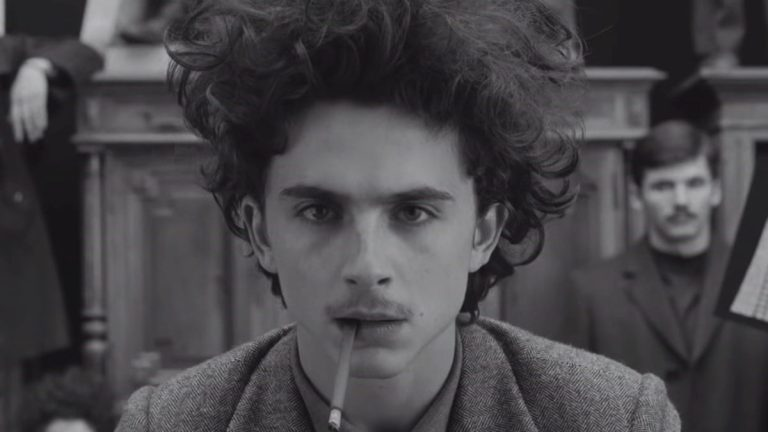 Timothee Chalamet in The French Dispatch Review