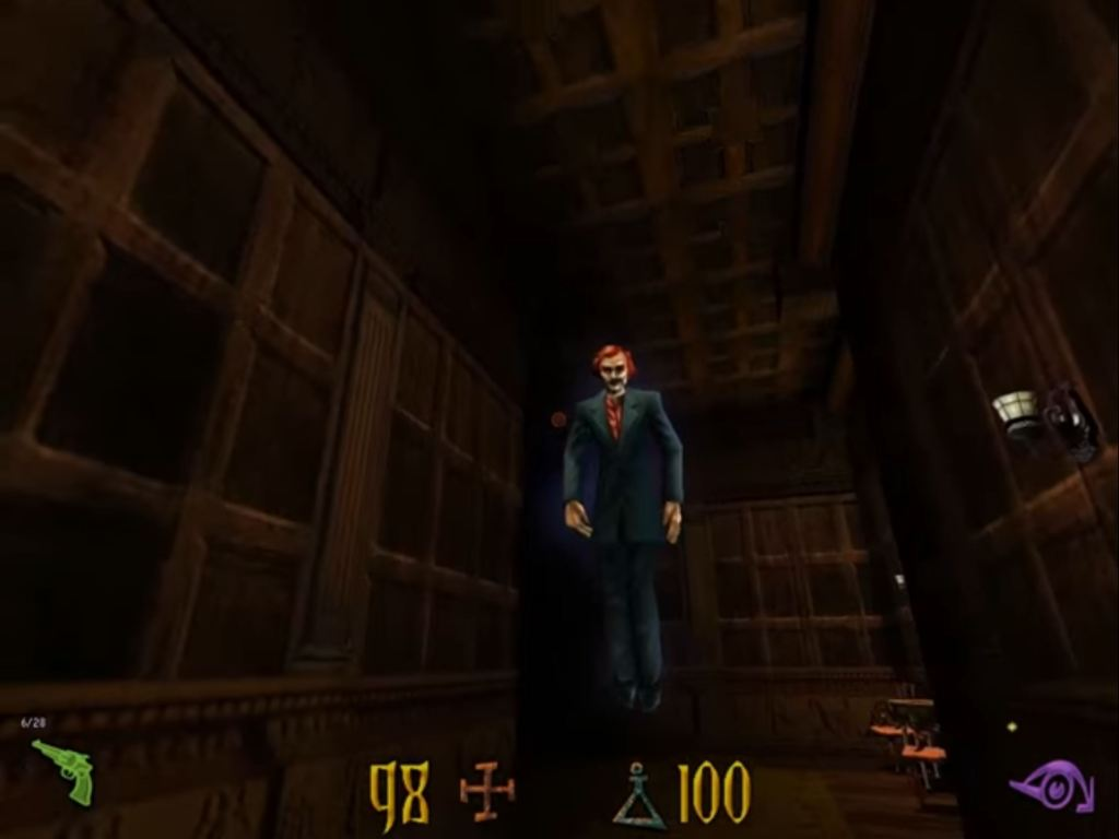 Clive Barker's Undying horror game