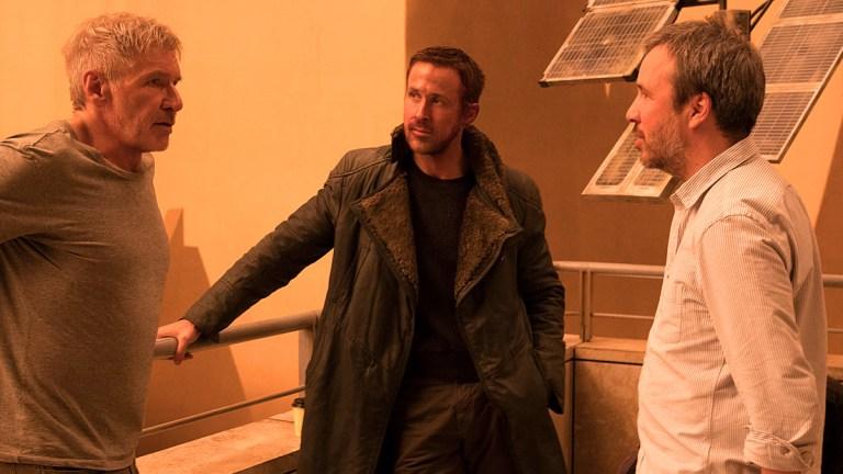 Blade Runner 2049: Harrison Ford, Ryan Gosling and Denis Villeneuve.