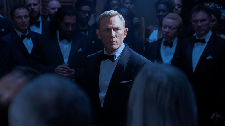 Daniel Craig in No Time to Die tuxedo