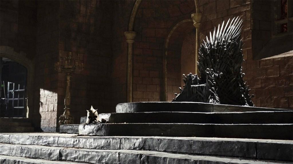 Game of Thrones' Iron Throne.