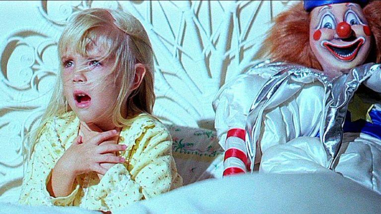 Carol Ann in bed in Poltergeist