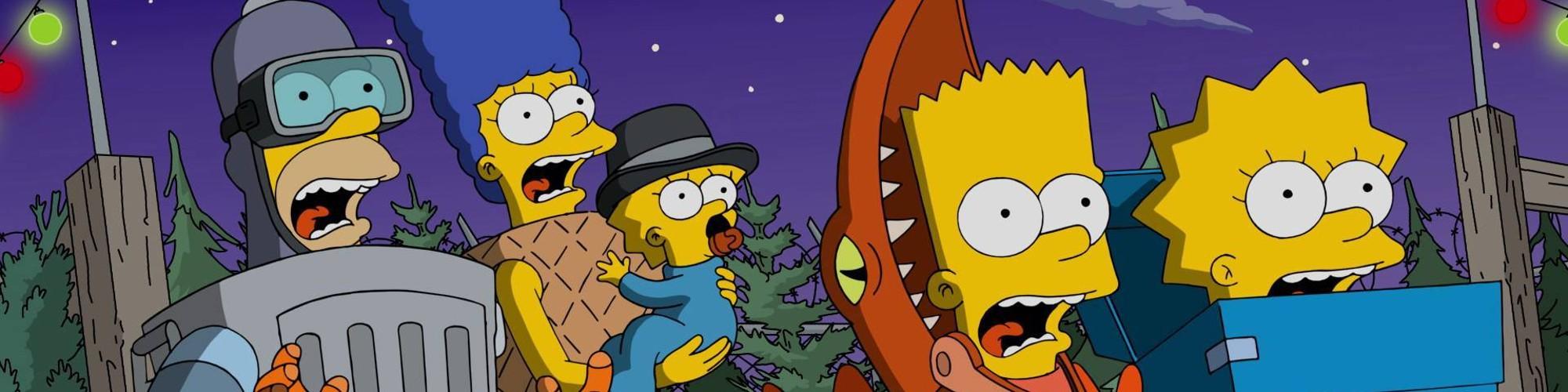 Simpsons Treehouse of Horror Hero Banner