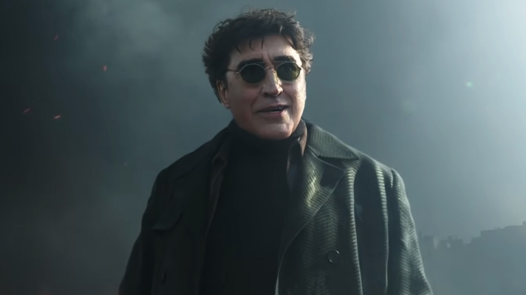 Alfred Molina as Doctor Octopus in Spider-Man: No Way Home.