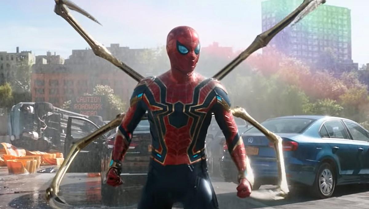 spider man no way home iron spider tom holland sony SciFi Thrill