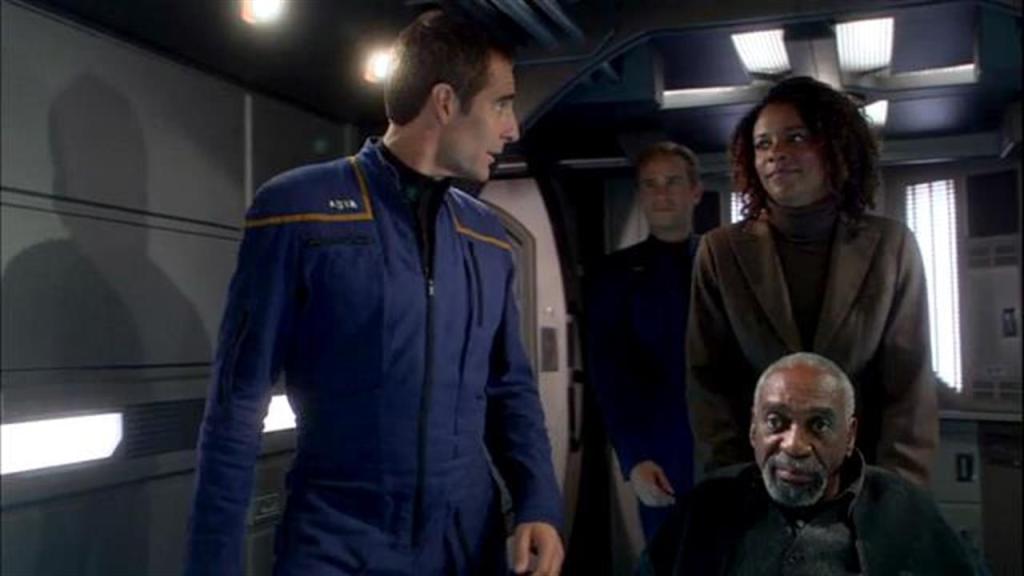 "Star Trek: Enterprise episode ""Daedalus"""
